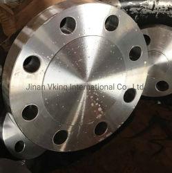 LÄRM JIS ASTM die Standards, die Prüfung Pn16 Pn20 werfen, bemisst Rohrfitting-blinden Flansch Edelstahl der Kategorie 150