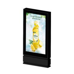 Signage van het scherm Waterdichte Openlucht Digitale LCD van de Totem van de Reclame Vertoning