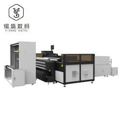 벨트 고해상도가 있는 안정적인 수리용 헤드 디지털 직물 프린터 30kW