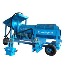 Trommel Gold Mining machines usine de lavage de diamant