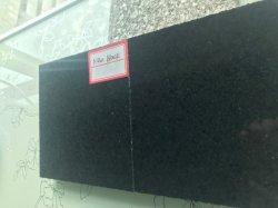 Natuurlijk Zwart Graniet voor Bevloering/de Bekleding van de Muur/Treden/Stappen/Bedekken van de Tegel van de Steen van de Pool het Het hoofd biedende