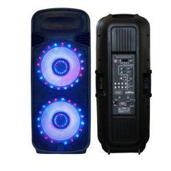 Double haut-parleur portable Bluetooth 15 pouces avec FM/USB
