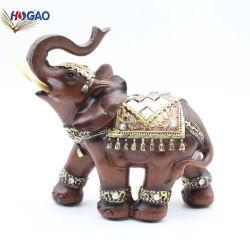 Оптовая торговля полимера животных фигурка слона полимера статуи