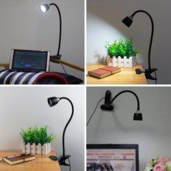 Livre USB Fonkin voyant Clip de lampe de table lampe de bureau