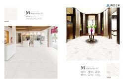 Fini mat porcelaine Gris / carreaux de céramique pour les revêtements de sol décoration maison