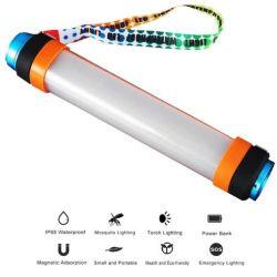 Аккумуляторный светодиодный индикатор кемпинг открытый IP68 водонепроницаемый кемпинг фонари портативный светодиодный индикатор аварийной световой сигнализации