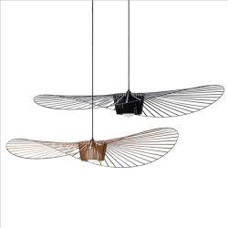 現代デザイン天井のシャンデリアの鉄の帽子の形の装飾的なペンダント灯