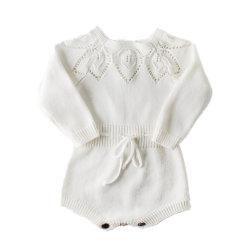 중국 제조자 아기 장난꾸러기를 입어 신생 아기 크로셰 뜨개질 니트 아이들