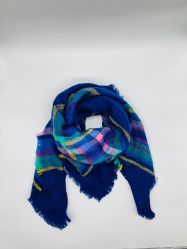 2019 nuevo regalo de promoción invertir Noble tejidas Bufanda de la mujer de acrílico de lentejuelas de copo de nieve