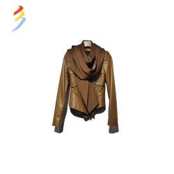 Складские запасы фабрики моды зимние оптовые используется второй стороны одежды женщин одежды Одежда из натуральной кожи