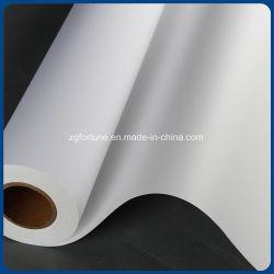 Papel de PP Eco-Solvent, mídia de impressão a jato de tinta, e auto-adesivo de PP branco