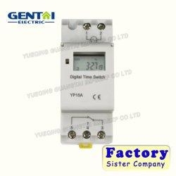 15-20A 3-5 طور مفتاح الوقت الرقمي القابل للبرمجة الأسبوعي Ahc15A
