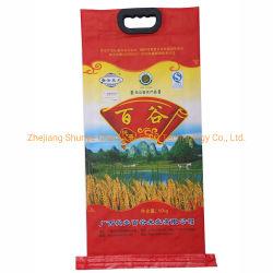 Fabrik Wasserdicht 10kg 20kg Mehl PP gewebte Verpackung Reisbeutel