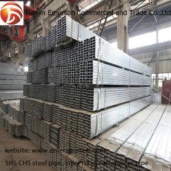 La norme ASTM A500/A501 Gr. A B C D Courbure à froid en acier doux de soudure SHS / Tube en acier de l'ers & Pipe