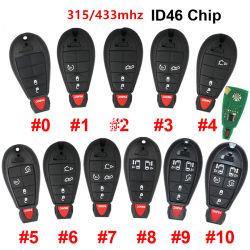 Entferntchip des Chrysler-intelligentes Auto-Schlüssel-433MHz ID46 Pcf7941 für Chrysler-Stadt u. Land für Jeep für Ausweichen-Magnum Durango