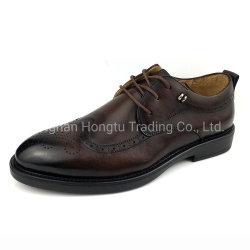カスタム人の服靴のOxfordsの革靴