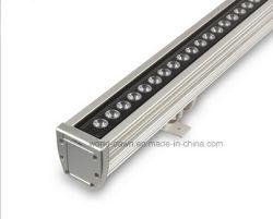 Один RGB цвета LED наружное освещение Wallwasher для использования вне помещений с помощью