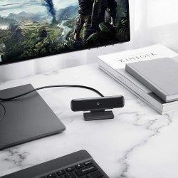 2020 Nuevo Publicado el suministro directo de fábrica FHD Web Cam en Directo cámara 1080p con doble micrófono estéreo portátil de escritorio Webcam USB