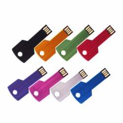 La clave popular forma una unidad flash USB con Logo de la empresa cliente