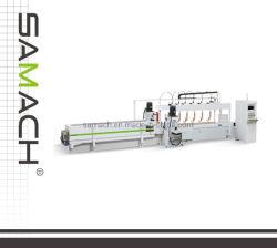 Fresatrice a doppia faccia di CNC dei due assi di rotazione con effetto di smeriglitatura