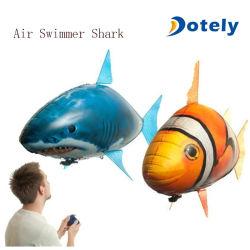 Nadador ar voando insufláveis Tubarão de balão de substituição