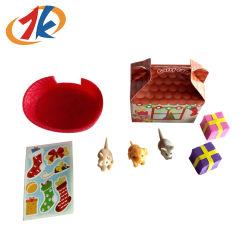 Рекламные Сувениры забавные Рождество настоящего пластмассовых животных игрушки для детей