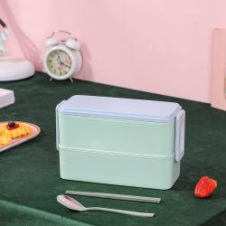 De promotie Koreaanse Doos van de Lunch van de Rang van het Voedsel van de Microgolf Antibacteriële Plastic