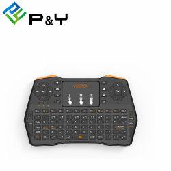 Mini-teclado sem fios com touchpad favorável do rato I8 Plus 2.4G Air Mouse para Caixa de TV Android