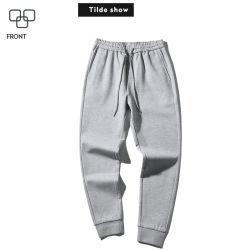 Commerce de gros 100% coton Pantalon Pantalon Pantalon Pantalon hommes sports de loisirs pour les hommes