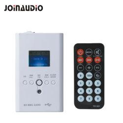 Mur Bluetooth Player PA Système de musique de fond avec un petit amplificateur (1215)