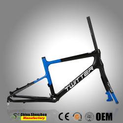 22pulgadas 40cm Full Carbon Mini Racing marco de la Bicicleta de carretera