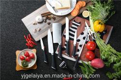 Messer-Set Küche des TPR Griffs 9PCS nützliches mit Acrylgriff