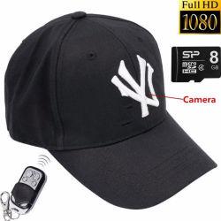 8GB1080p HD Versteckter DVR Câmara Spion Hat Motion Detection Gravador de Vídeo Digital Sem Fios