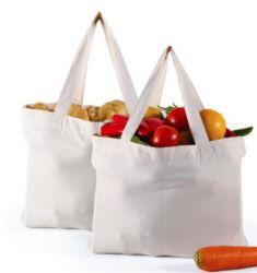 2020 Новый Стиль многоразовые Eco 100% ткань органических обычного хлопка женская сумка с ручкой и печати