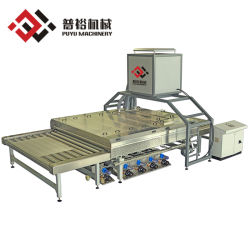 Plana Horizontal automática de alta calidad/Templado de Vidrio Flotado/Lavadora Precio con 3 pinceles Fabricante (YGWM3B3K-2500)