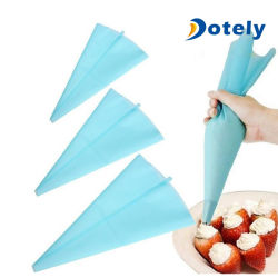 3 tamaños de silicona conjunto de la bolsa de Hielo Hielo reutilizables Bolsa pastelera la crema de tuberías de la herramienta de decoración bricolaje