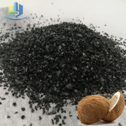 Coquille de noix de coco de charbon activé en vrac pour l'or Extraetion