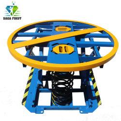 Posicionador de palet de tijera hidráulico manual