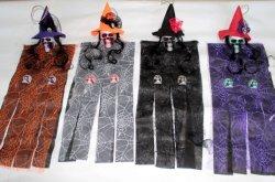Rifornimenti del partito del coperchio della tenda di portello del Hangman del merletto della decorazione del partito di Halloween