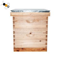 중국 꿀벌은 나무로 되는 Langstroth 벌통 양봉 장비를 모여 살게 한다