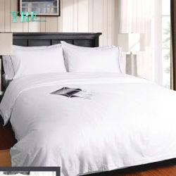 Yrf 호텔 공급자 최고 임금 100%년 면 침대 시트 베개 상자 호텔 적합하던 침대 시트