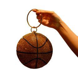 2020 de hete Dames die van de Handtassen van het Basketbal van de Boodschapper van het Bergkristal van de Manier van de Verkoop de Handtas van de Beurs gelijk maken