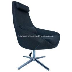 호텔 또는 홈 도회지 사람 의자를 위한 어두운 회색 강선 직물 가구
