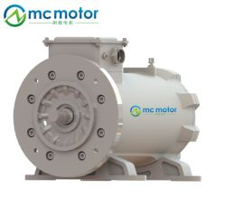 AC 3 단계 고속 또는 힘 토크 동시 무브러시 영구 자석 전기 Pmsm Pm 산업 모터 6000rpm에 24000rpm