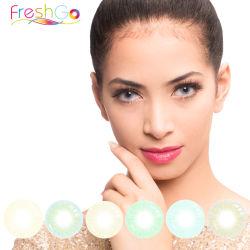 Freshgo 12 Colores en Color Natural Hidrocor lentes de contacto