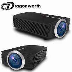 Yg500 가정 극장 영사기 800X480 1200lms 1080P 소형 영사기 소형 디지털 LED 3D 영사기