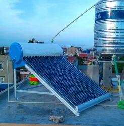 100L, 150L, 200L, 250L, 300L Non-Pressurized tubo de vácuo de aquecedor solar de água (padrão) com 0,5 mm de espessura de aço inoxidável SUS304 depósito interno