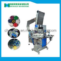 De automatische Printer van het Stootkussen van Vier Kleur voor De Sluitingen van de Container van Kroonkurken