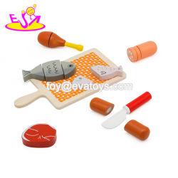 Классический мини-кухни деревянные претендует на питание игрушки для детей W10b258