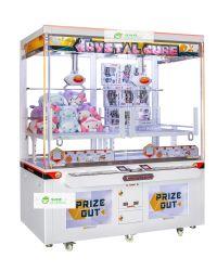Crystal Cube griffe Deux Mini Coin Pusher maître/jeu de clés /Claw Machine/joueur/Arcade Game machines/jeu vidéo Arcade/Amusement machine/machine/machine de jeu
